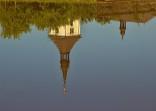 Kostel na vodní hladině